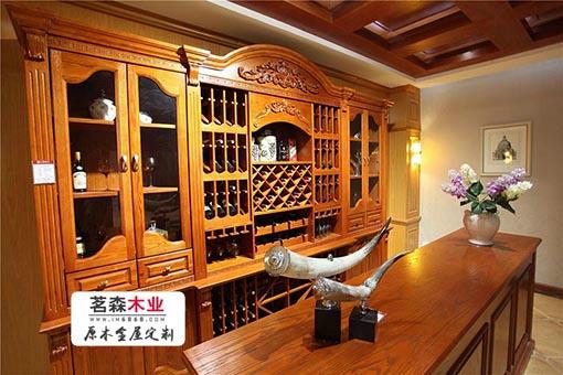 哈尔滨定制家具 定制酒柜的工厂