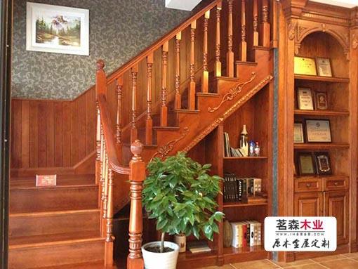 北京实木楼梯 楼梯扶手