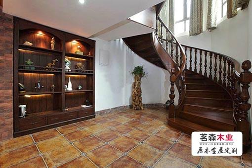 哈尔滨别墅旋转楼梯工厂