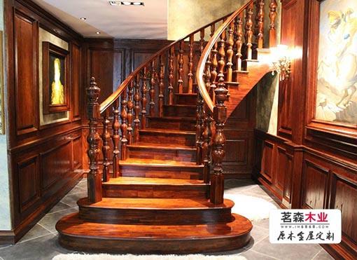 哈尔滨茗木楼梯定做厂家