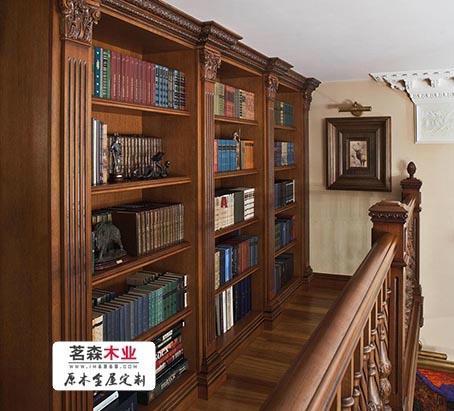 哈尔滨书柜 实木书柜定做