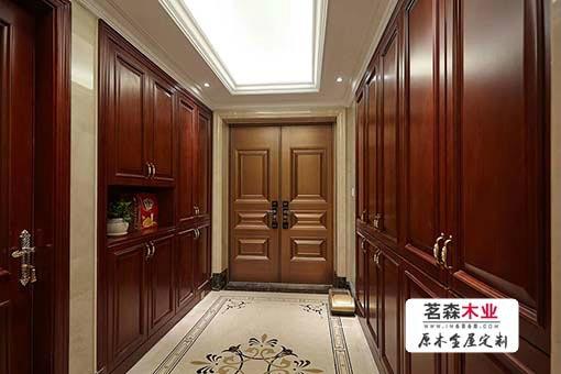 哈尔滨门厅柜定做选茗森木业