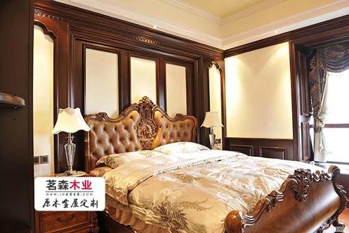 家装卧室木挂板定制
